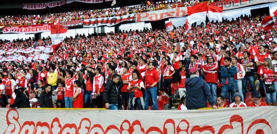 Página del club Independiente Santa Fe
